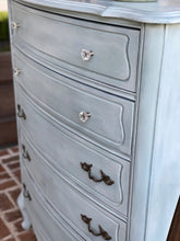 Load image into Gallery viewer, Duck Egg Blue French Provincial Chest