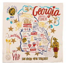 Load image into Gallery viewer, Georgia State Dish Towel