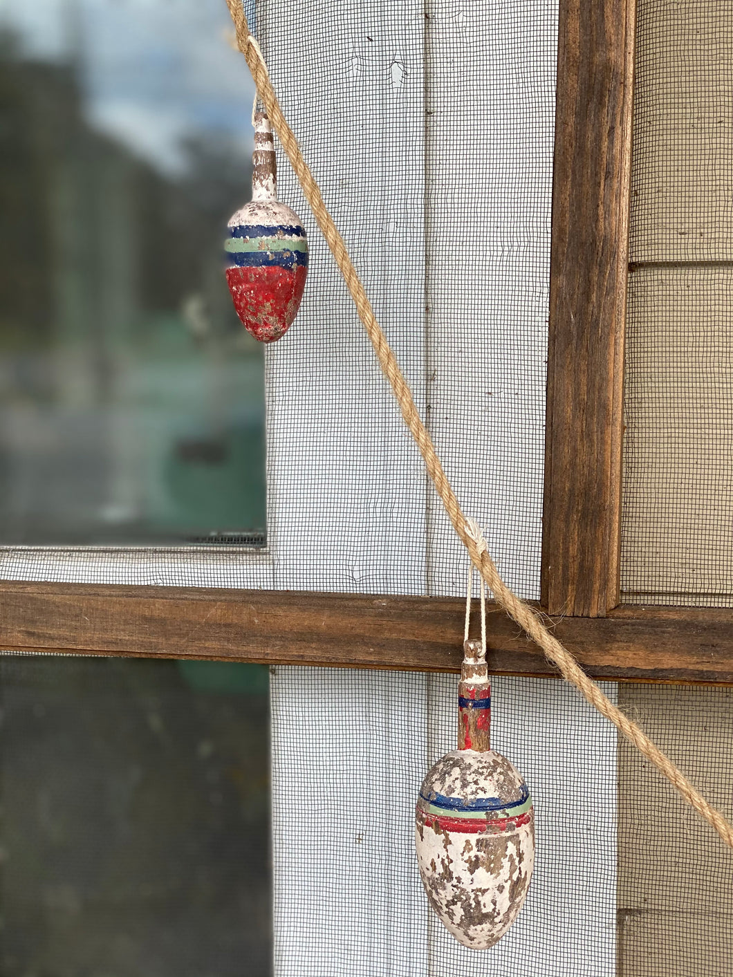 Wooden Bobber Float garland