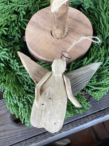 Driftwood Angel Ornament