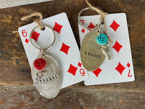Thelma and Louise a key chains