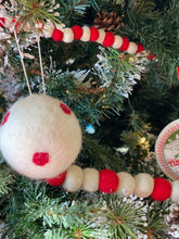 Load image into Gallery viewer, Small Wool Felt ball garland