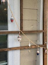 Load image into Gallery viewer, Wooden Bobber Float garland