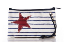 Load image into Gallery viewer, Seabags Breton Star and Stripes Wristlet