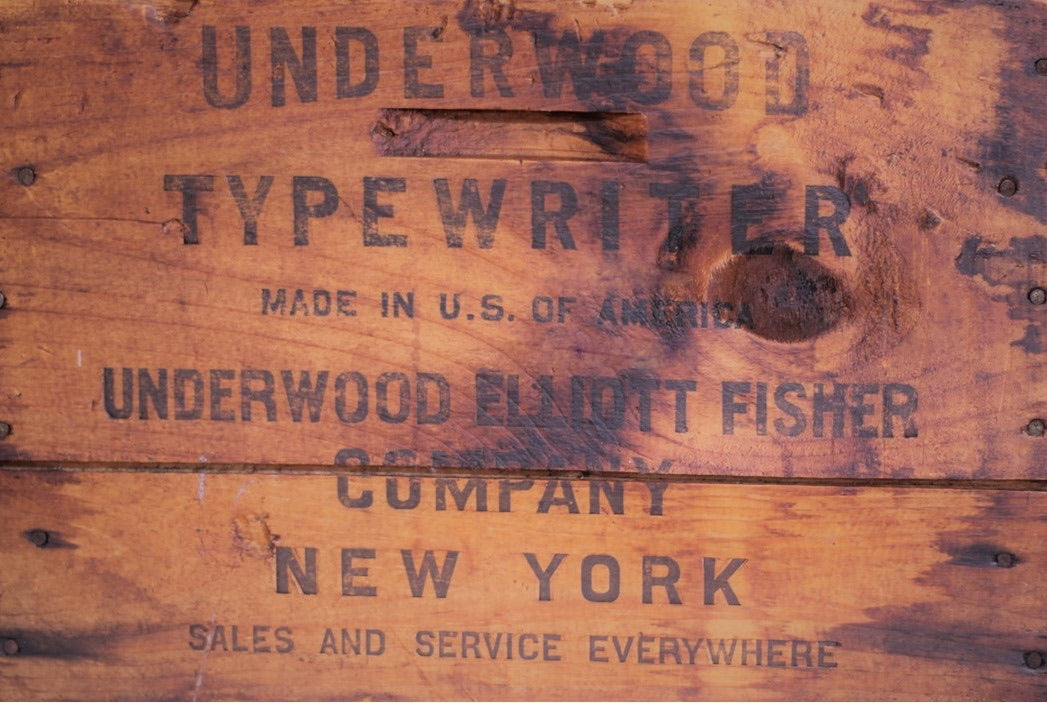 Roycycled Underwood Crate