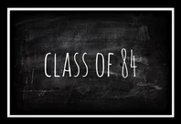 Class of 84 clothing