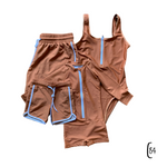 Womens one piece (Brown)