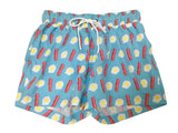 Mens Bacon and Egg swim shorts