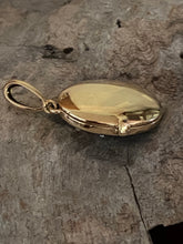 Load image into Gallery viewer, 9ct Gold Onyx & Seed Pearl Locket