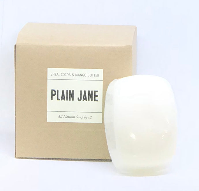 Plain Jane Soap Shea, Cocoa & Mango Butter
