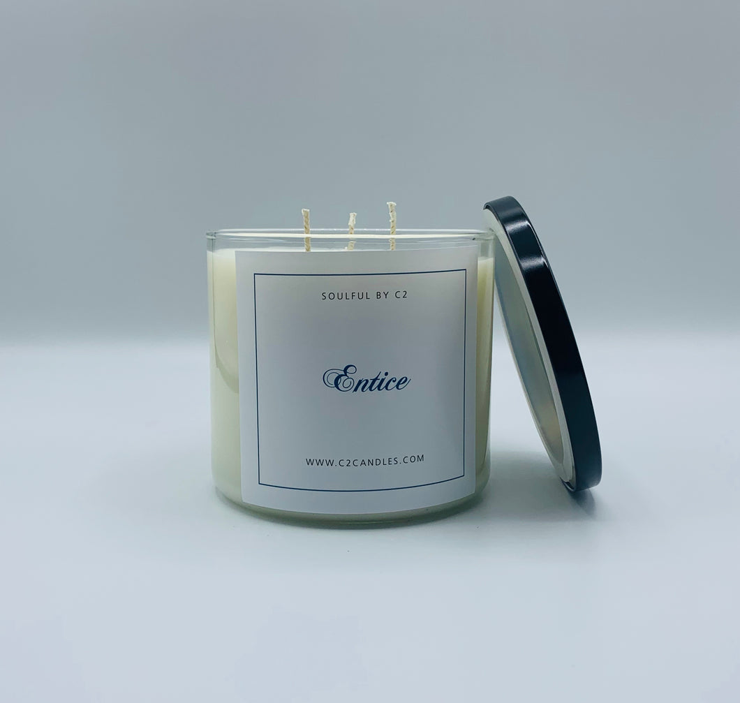 Entice 17oz Holistic Soy Candles