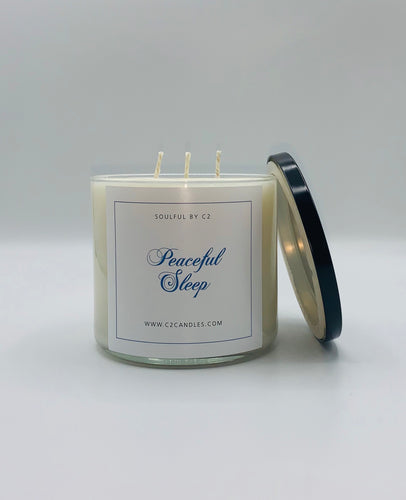 Peaceful Sleep 17oz Holistic Soy Candles