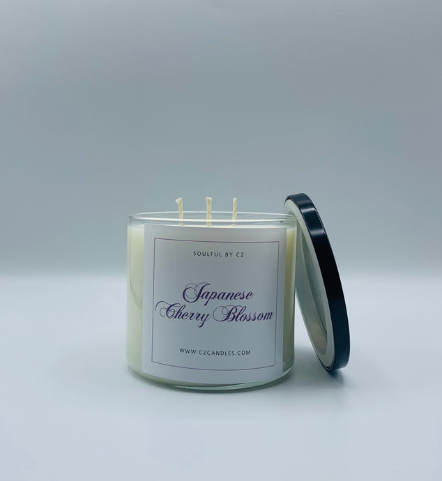 Japanese Cherry Blossom 17oz Soy Candle