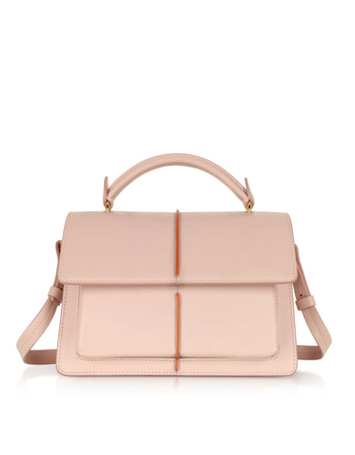 MARNI Contrast strip handbag