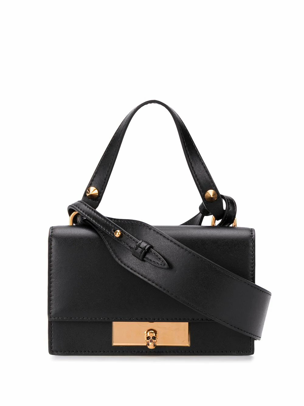 ALEXANDER MCQUEEN skull lock crossbody bag