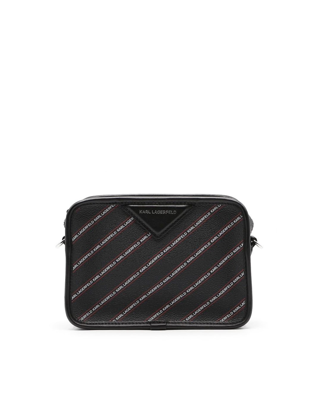 KARL LAGERFELD k/stripe mini crossbody bag