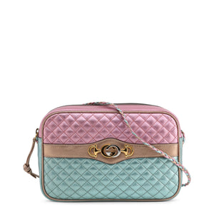 Gucci - quilted colorblock crossbody bag