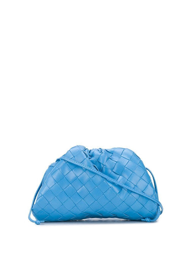 BOTTEGA VENETA The Mini Pouch Intrecciato clutch bag