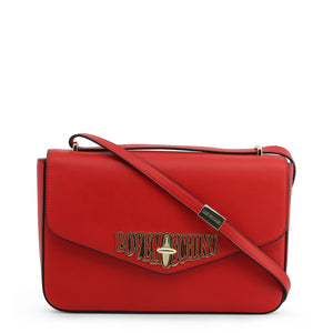Love Moschino envelope logo shoulder bag