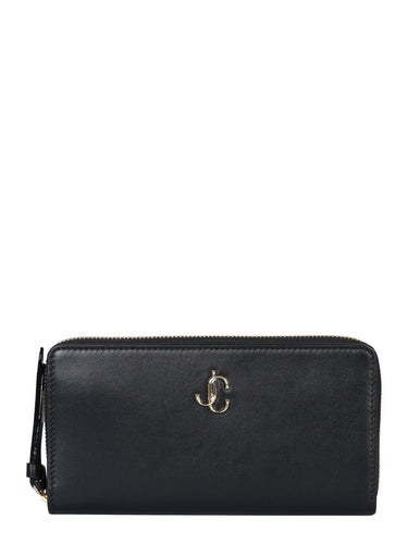 JIMMY CHOO Pippa full zip wallet