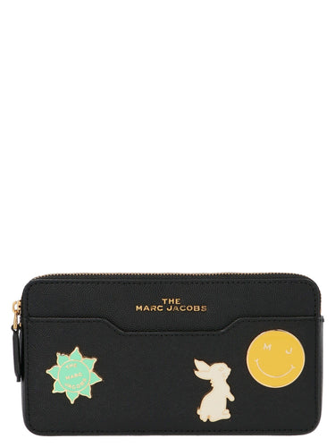 MARC JACOBS plaque badge crossbody bag