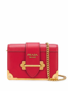 PRADA Cahier mini crossbody bag