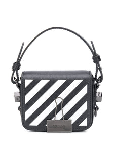 OFF-WHITE Binder clip mini crossbody bag