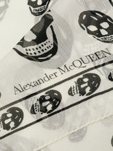 Load image into Gallery viewer, ALEXANDER MCQUEEN skull print scarf