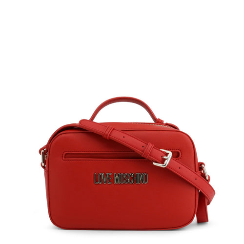 Love Moschino Logo plaque top handle crossbody bag