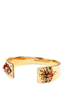 ALEXANDER MCQUEEN spider cuff bangle