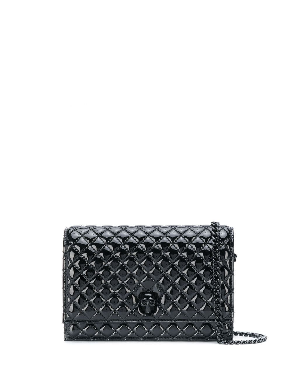 ALEXANDER MCQUEEN skull quilted shoulder bag
