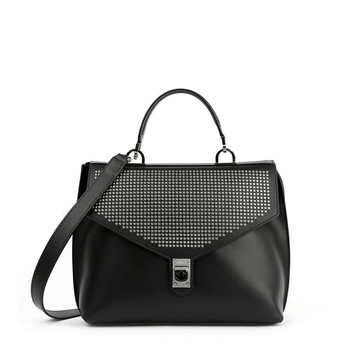 Furla - Studded flap effect handbag