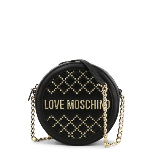 Love Moschino - Circular studded crossbody bag