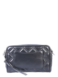 MARC JACOBS The quilted Snapshot crossbody bag