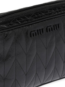 MIU MIU quilted camera bag
