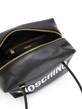 Load image into Gallery viewer, MOSCHINO logo print handbag