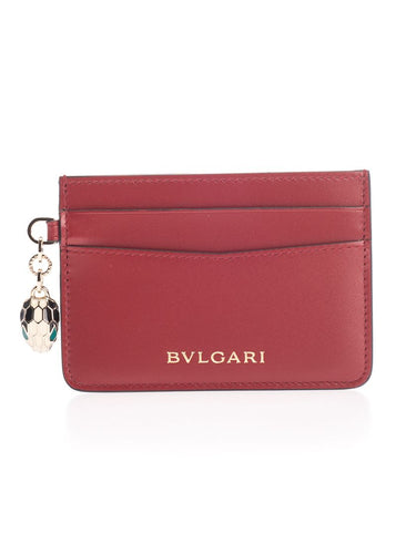 BULGARI Serpenti forever credit card holder