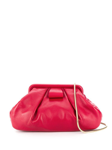 MIU MIU nappa leather clutch bag