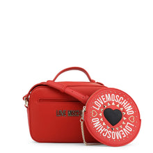 Load image into Gallery viewer, Love Moschino Logo plaque top handle crossbody bag