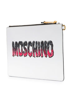 MOSCHINO Teddy bear envelope clutch