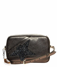 Load image into Gallery viewer, GOLDEN GOOSE Glitter star shoe detail crossbody bag