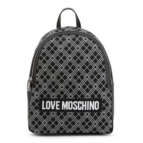 Love Moschino Intarsia knit backpack