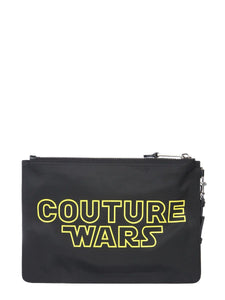 MOSCHINO Couture wars clutch
