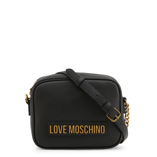 Love Moschino - logo plaque camera bag