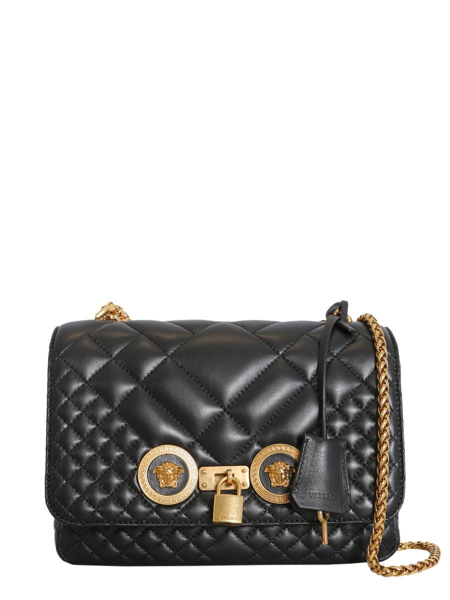 VERSACE small quilted shoulder bag