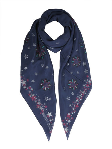 JIMMY CHOO stars all over scarf