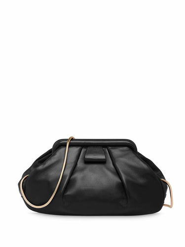 MIU MIU Pleated doctor clutch bag