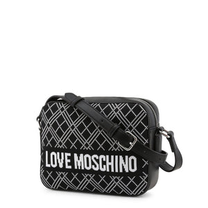 Love Moschino - knit logo camera bag