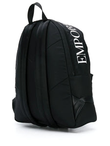 EMPORIO ARMANI large logo backpack