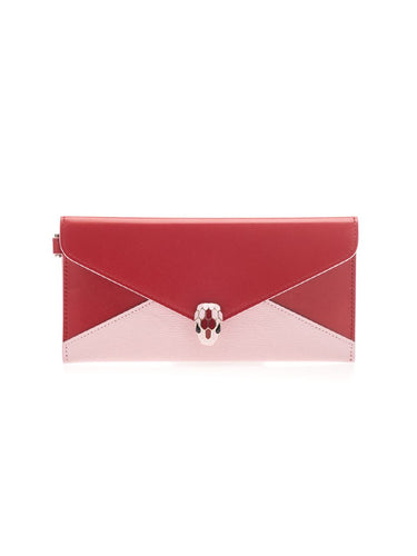 BULGARI Serpenti Forever envelope clutch